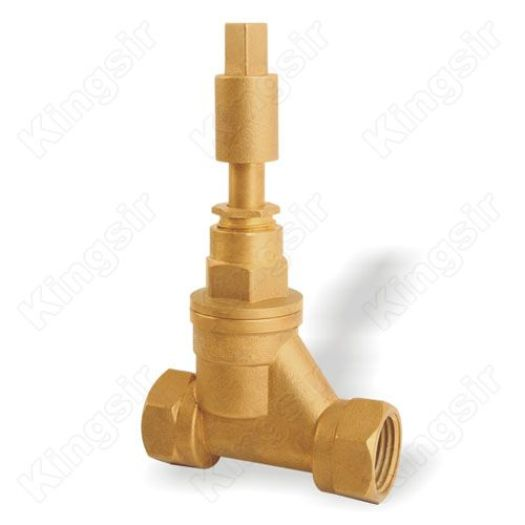 Through Way Brass Globe Valve