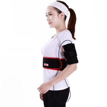 Far infrared electric back heating therapy pad
