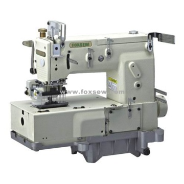 17-needle Flat-bed Double Chain Stitch Sewing Machine
