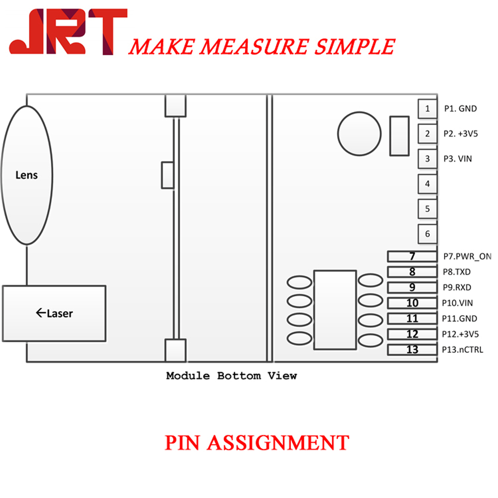 703A laser measure pin assignment