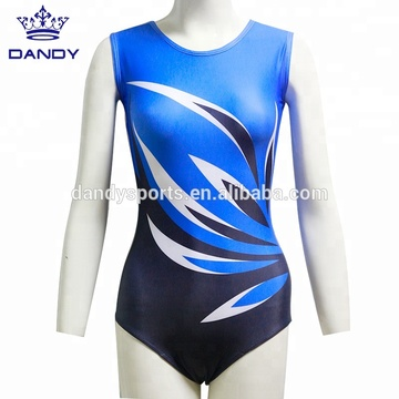 custom sublimated kids training gym leotard