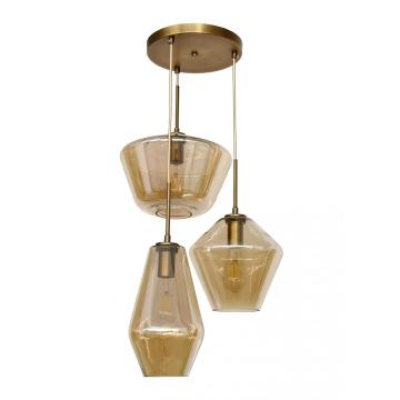 Nordic glass suspension pendant lamp