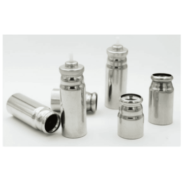 Drug delivery components MDI canister