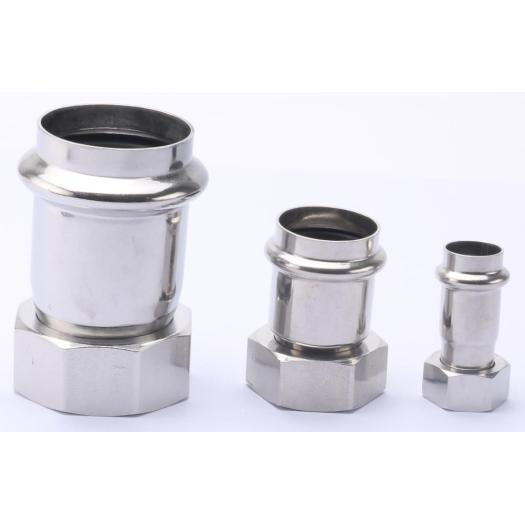 SS Coupling Press Pipe Fitting