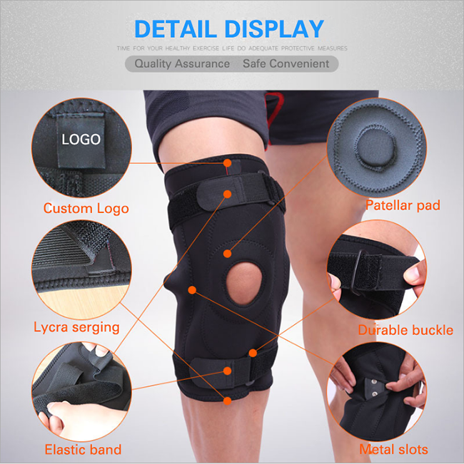 safe and convenient knee support