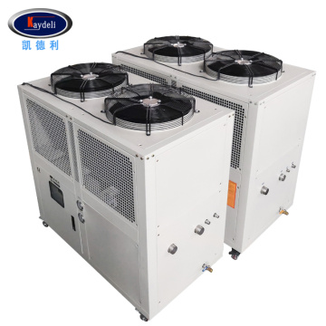 Integrated air cooled chiller