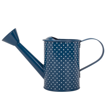 Haws Blue Watering Can Galvanized