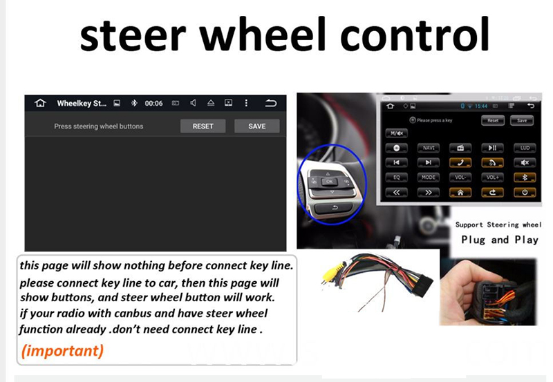 steering wheel control for benz