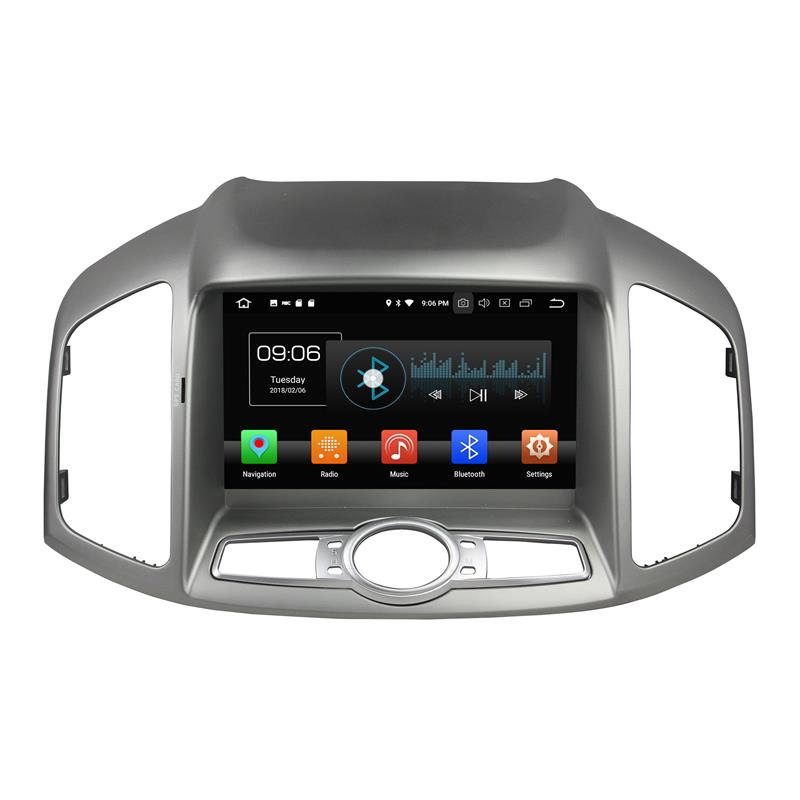 Chevrolet Capativa 2016 android 8.0 car stereo systems (2)