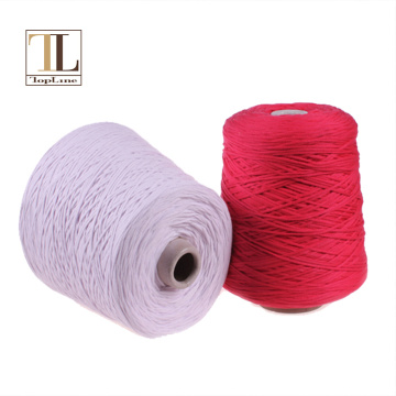 Topline 1.5 gauge tape cotton nylon blend yarn