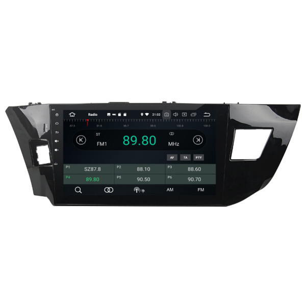 Android Car Electronics Player For Toyota Levin