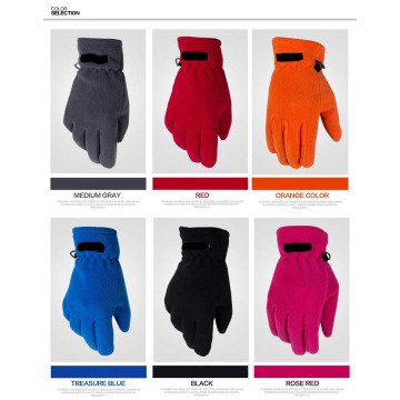Promotional Mens 100% Polyester Fleece Gloves