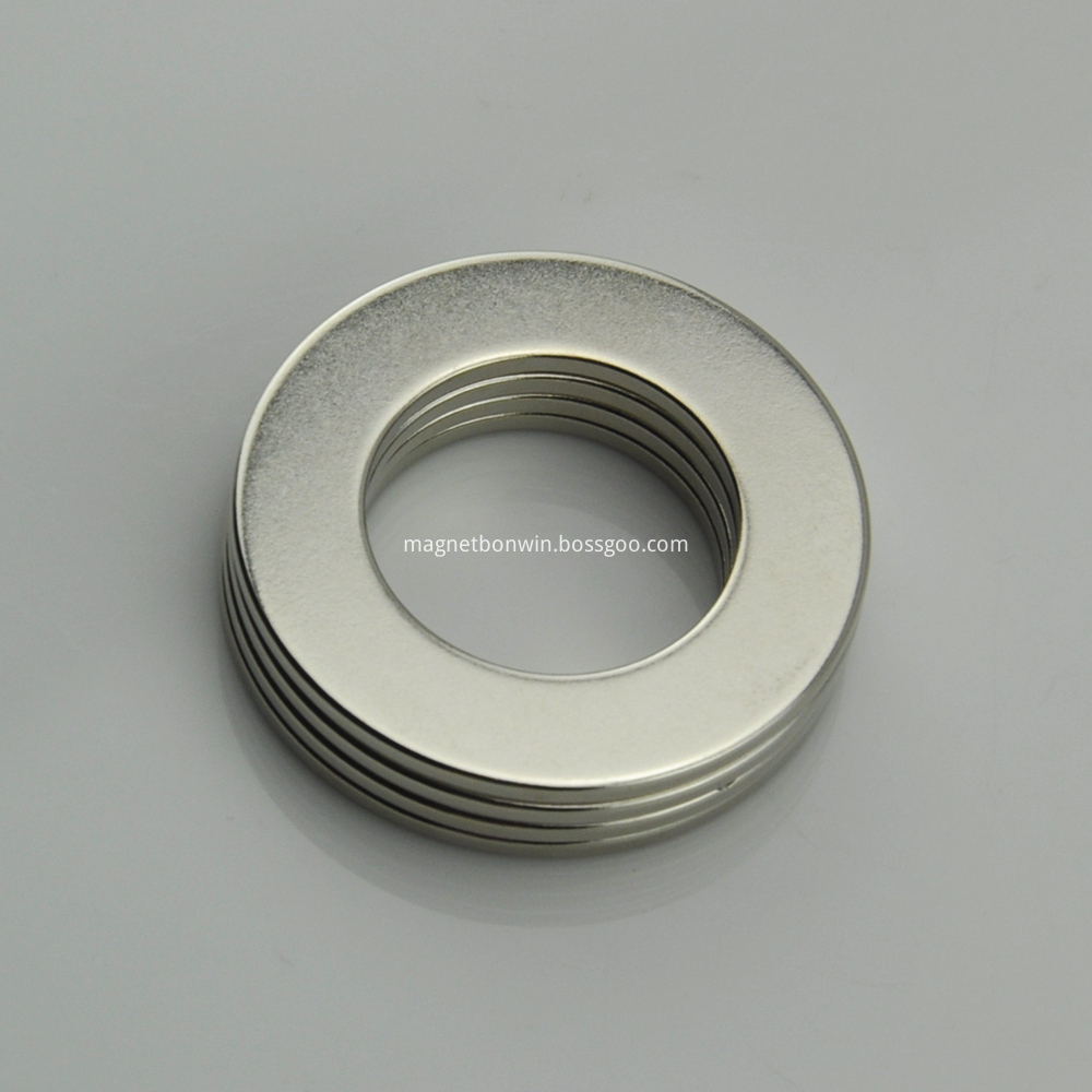 Permanent ring magnet