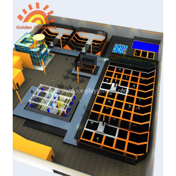 New Design Sky Multi-functional Trampoline Park