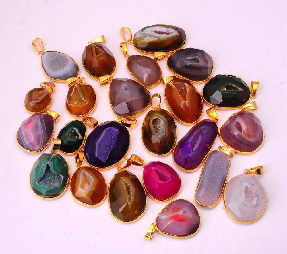 00SP0162 agate pendant necklace