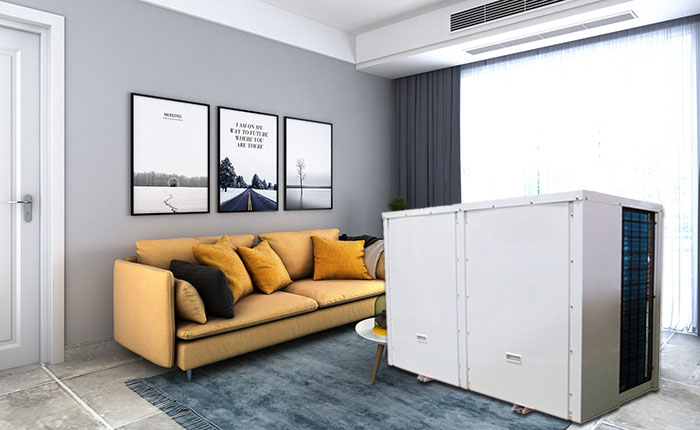 Central Air Conditioner Heat Pump