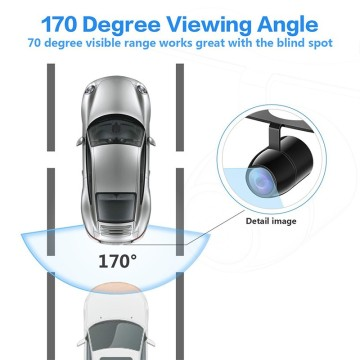 High Resolution Backup Camera System