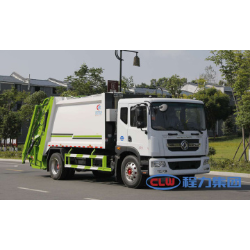 Brand New DONGFENG D9 8tons Green Rubbish Truck