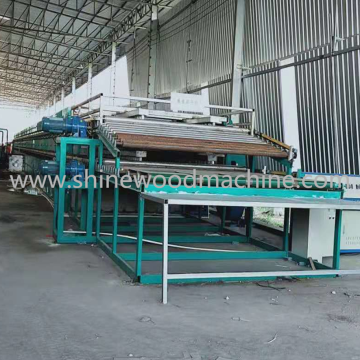 High Productivity Face Wood Veneer Drying