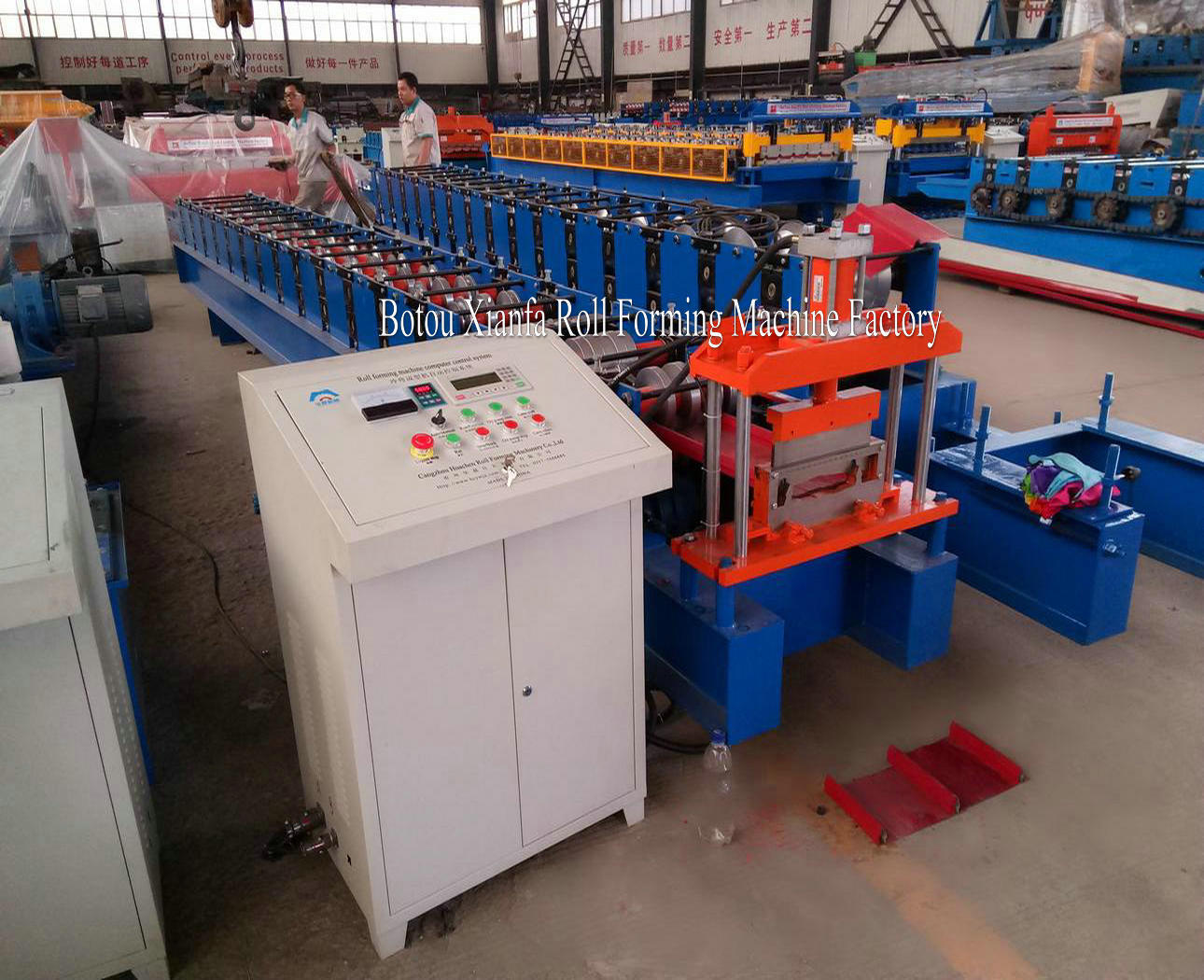 cold steel rooing roll forming machine