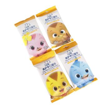 High Quality Soft Cotton Non-Woven Baby Wet Wipe