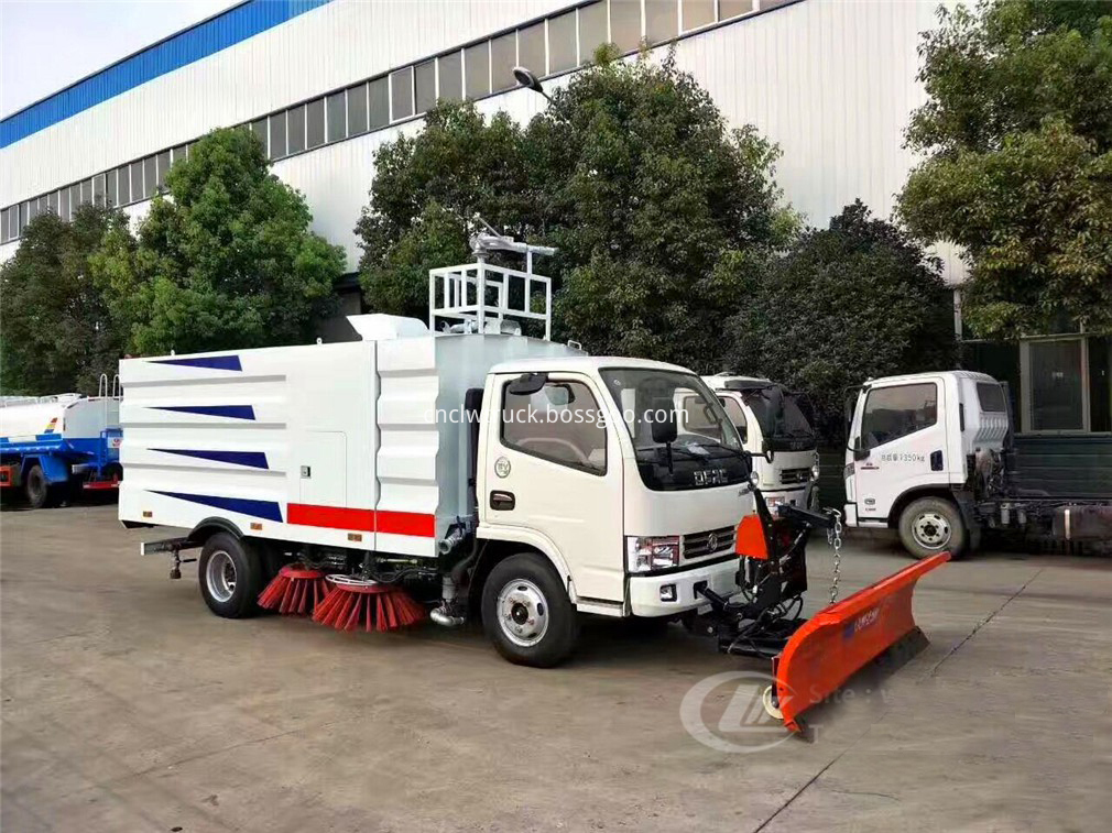 snow sweeper truck 1