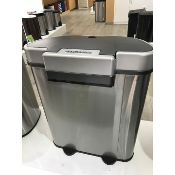 Large Indoor Trash Bin Used in Shopping Mall Supermarkets Cinema