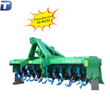 Farming tillage machine cultivator gearbox deep roravator