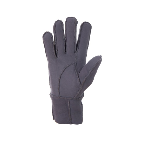 Popular Sheepskin Gloves with Fingers in Patched