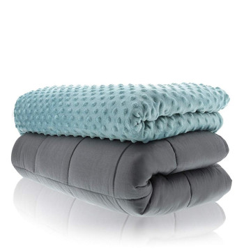 cotton weighted blanket of high quality 20lbs 48*72