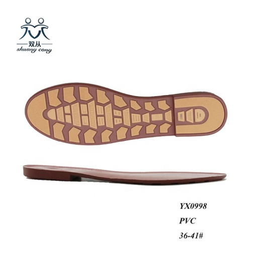 PVC outsole Rubber Sole for Moccasins