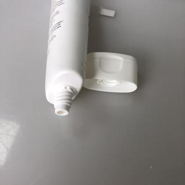 PE flat tube with flip cap