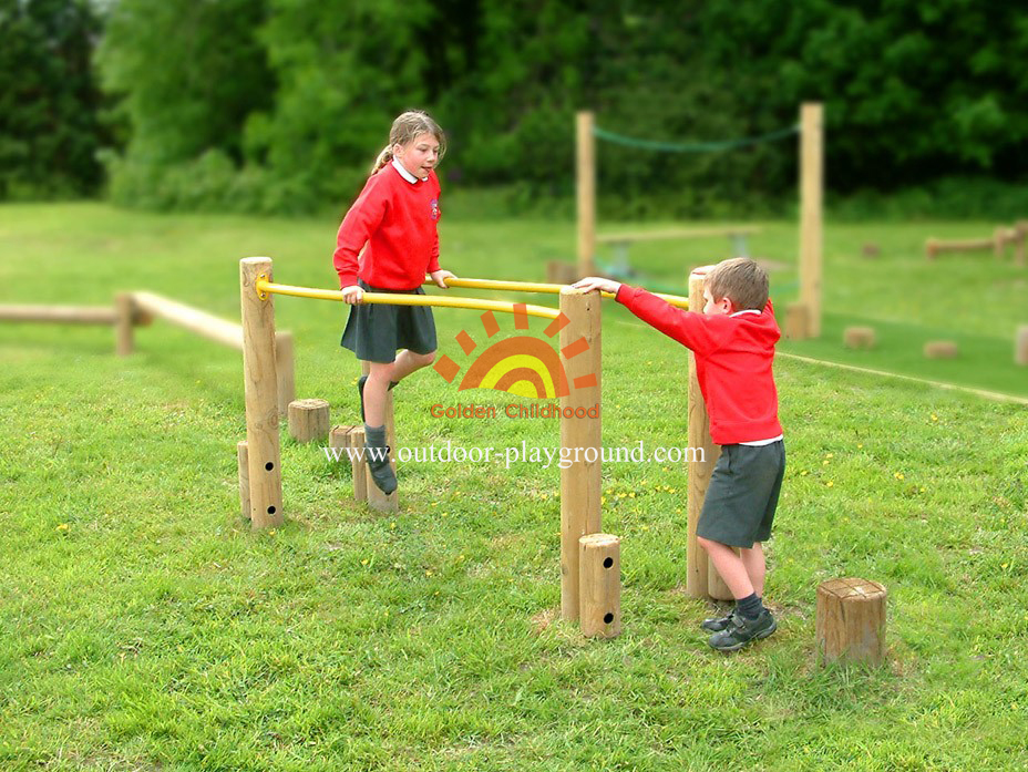 Parallel Bars Outdoor Playground For Kids