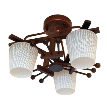 Wooden ceiling lamp  Modern Lighting