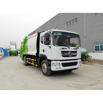 Brand new Dongfeng 160hp 12cbm Waste Compactor Truck