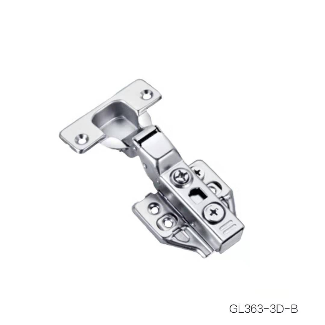 Clip-on Two Way 3D Hinge