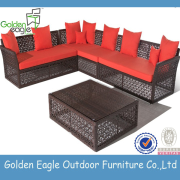 Top selling factory offer rattan sofa set