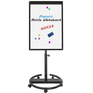 Adjustable In Height Magnetic mobile Flipchart easel