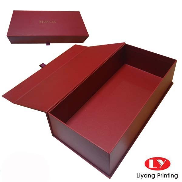 Rectangular custom gift boxes paper cardboard