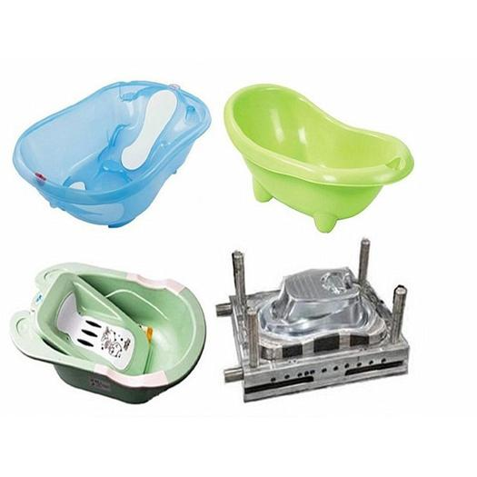 Plastic baby childen bath showering basin injection moulds