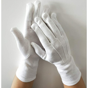 Waiter's Cotton Gloves in Whitewhite cotton waiter gloves
