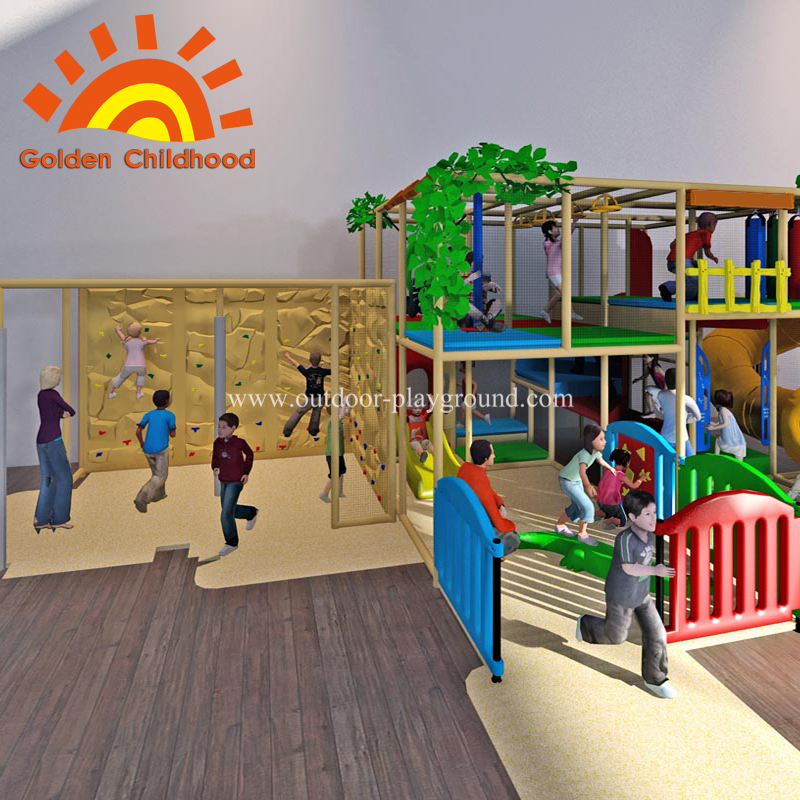 Adventure Indoor Playground structure
