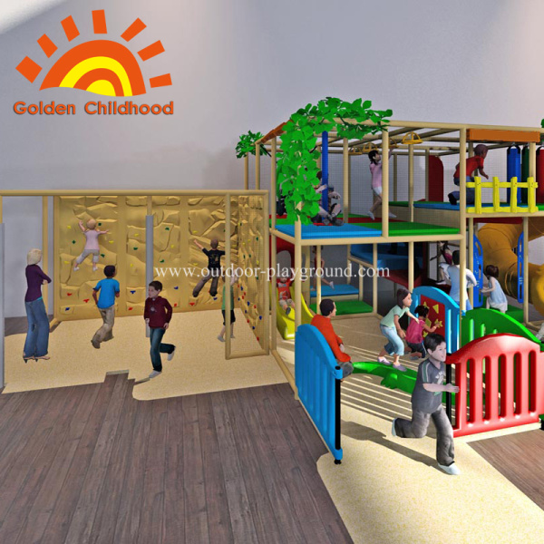 Indoor Environmental Kids Play Equipment structure
