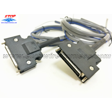 Custom MDR Connector Assemblies