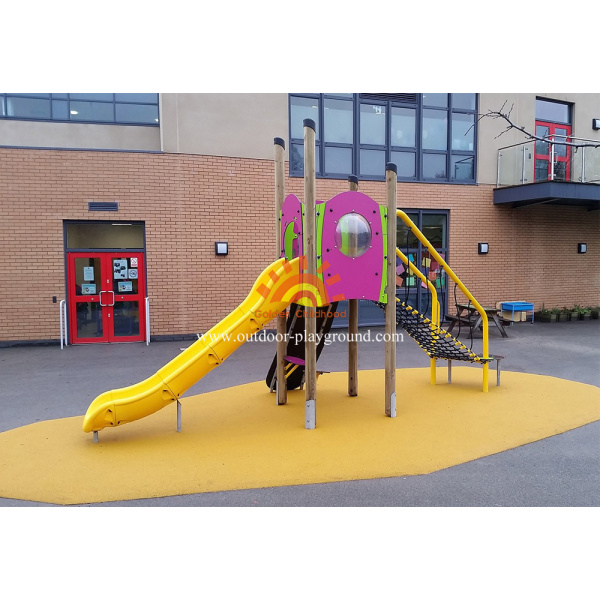 Kids Net Play Structure Outdoor Equipment