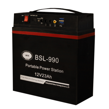 Multi-functional mobile power station with LCD display
