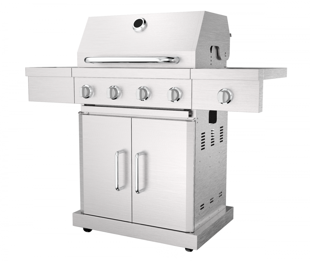 4 &1 Burner Gas Barbecue Grill