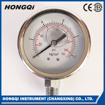 Mechanical Melt Industrial Pressure Gauge