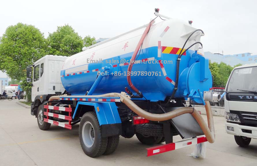 Waste Tanker Truck Price