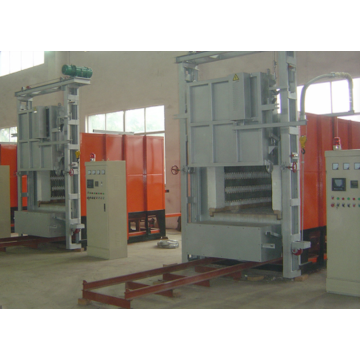 Oxidation proof stainless steel car type furnace